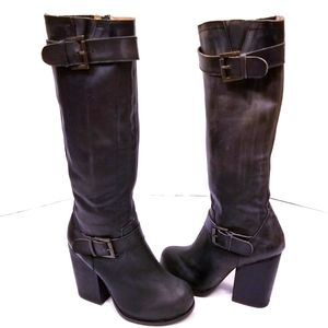 Jeffrey Campbell Heeled Knee High Boots
